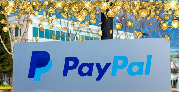 PayPal chấp nhận thanh toán Bitcoin.